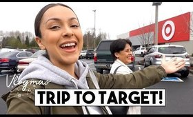 SHOPPING AT TARGET + HAUL! | Vlogmas Day 10 + 11 - LifeWithTrina