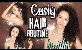My 2018 Summer Curly Hair Routine + Tips To Beat Frizz!