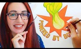 EX-BOYS & BOK CHOY (Speed Painting With Gouache While I Yap) Jess Bunty