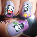 Cute Panda Nails! - BornPretty Store Water Decal Review + Tutorial