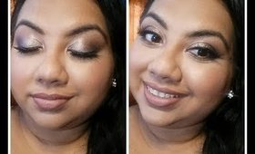 SOFT GLAM TUTORIAL USING THE BAD HABIT AFTER PARTY PALETTE