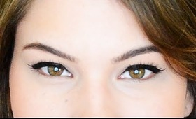 How to do Winged Eyeliner / Cat Eyeliner with Liquid Pen
