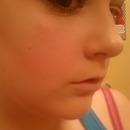 smokey eye look