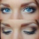 My Blue Eyes Makeup