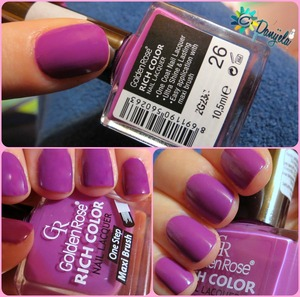 The most beautiful purple polish in my collection
