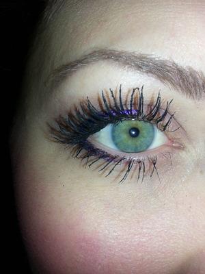 false looking all natural lashes.