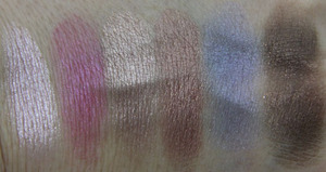 Wet n Wild Coloricon Baked Eyeshadow Baking a Cake Swatch Dry