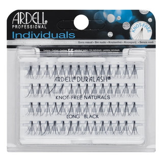 Individuals Knot-Free Natural Lashes Long Black