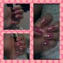 Nails w/ sequins!