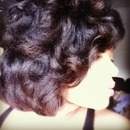 Flexi rod set on natural hair