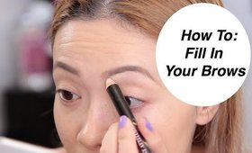 How To: Fill In Brows Like A Pro (Fall Edition)