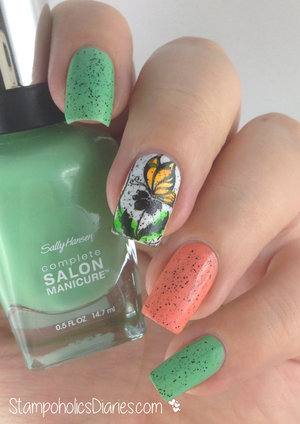 http://stampoholicsdiaries.com/2015/02/25/butterfly-nails-with-sally-hansen-el-corazon-dance-legend-essence-and-born-pretty/