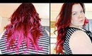 HOW TO DYE HAIR EXTENSIONS | Hair Dying Tutorial