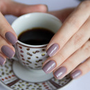 Taupe nails