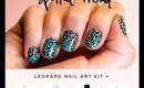 Leopard Nail Art Kit