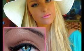 Bronzed Goddess Make-up Tutorial