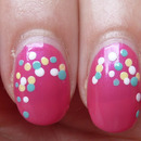 Nail Challenge Day #11 Polka Dots