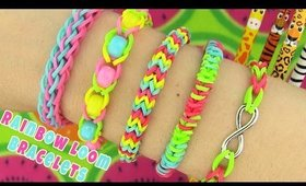 5 Easy Rainbow Loom Bracelet Designs without a Loom