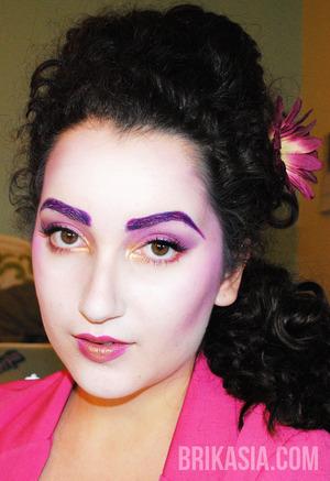 The full Effie look- hair included!