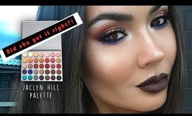 Morphe x Jaclyn Hill Palette Summer Eye TUTORIAL | Maryam Maquillage