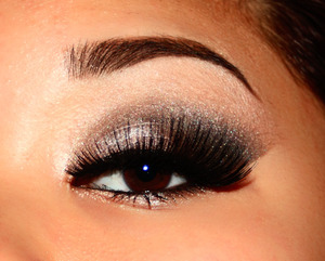Dramatic Silver Look