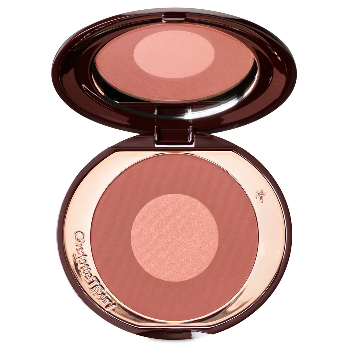 Charlotte Tilbury Cheek To Chic Pillow Talk Intense product swatch.