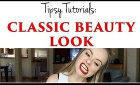 Tipsy Tutorials: Classic Beauty Look
