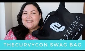 theCURVYcon Swag Bag Haul 2017