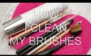 HOW I CLEAN MY BRUSHES WITH SIGMAGIC BRUSH SHAMPOO I Futilities And More