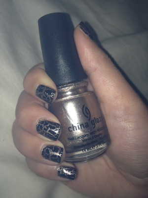 """CG """"Swing Baby"""" and black crackle w/ flash"""