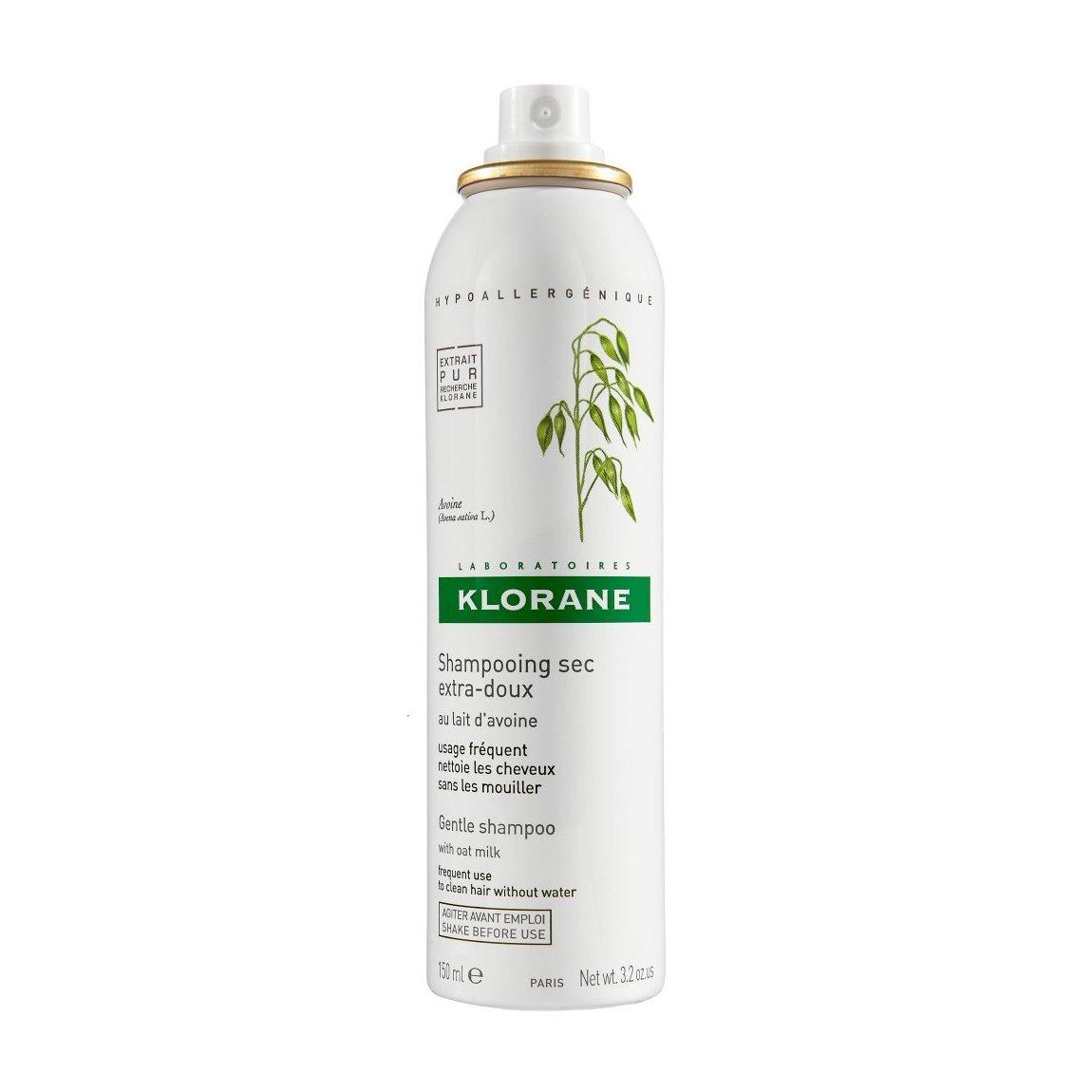 Klorane Dry Shampoo Klorane Gentle Dry Shampoo With Oat Milk Aerosol Spray Beautylish