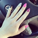 My New Years nails lol 😜💗💅