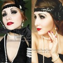 1920's makeup!