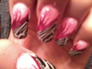 some sinful colors polishes, easy art striper, & OPI shatter