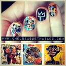 Basquiat Inspired Nails