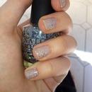 glitter grey opi silver
