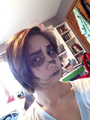 Skeleton Skellington MALEUP