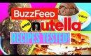 POPULAR Nutella BUZZFEED Dessert Recipes TESTED | Easy + NO Bake