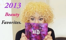 My 2013 Beauty Favorites! ♥
