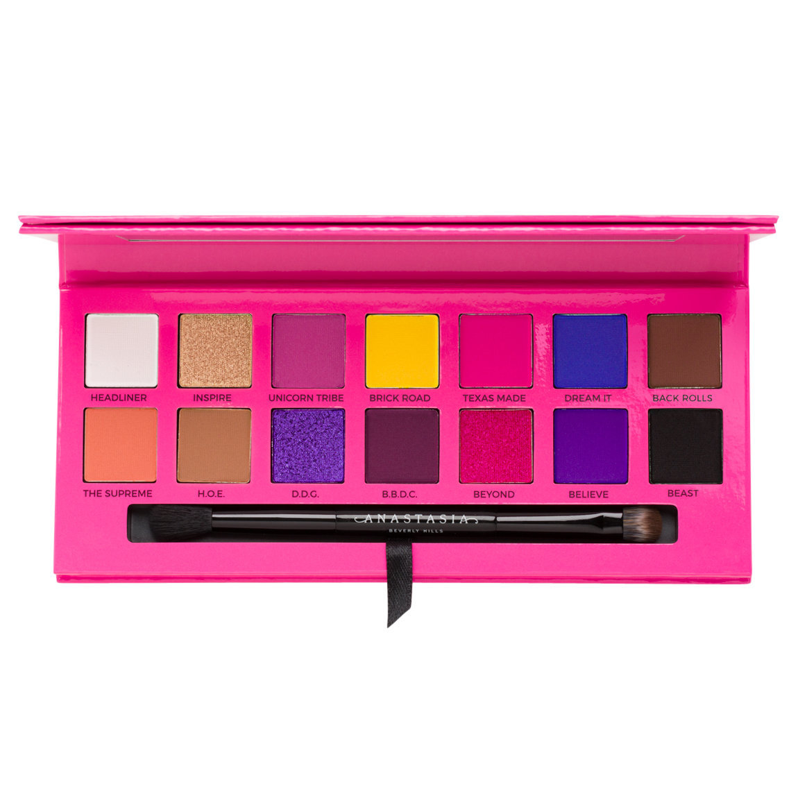 Anastasia Beverly Hills Alyssa Edwards Eye Shadow Palette alternative view 1 - product swatch.