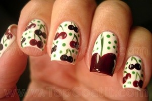 Cheries not mine but from a nail app