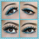 Fun Lashes on Top and Bottom!