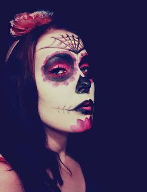Sugar Skull MakeUp  ♥