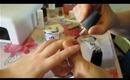 French UV Gel Nails Tutorial