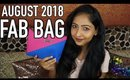 FAB BAG AUGUST 2018 | Unboxing & Review | Own the Glam Edition | Stacey Castanha