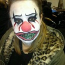 Scary clown!