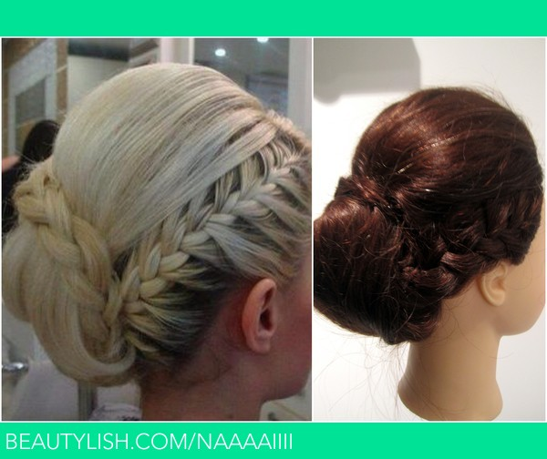 Side Braid Updo Niamh M S Naaaaiiii Photo Beautylish