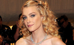 Met Costume Institute Gala Beauty: Jessica Stam