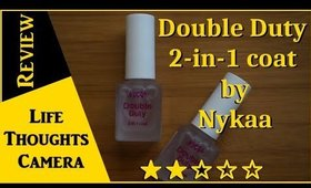 Product Review: Double Duty 2-in-1 coat by Nykaa  - Ep 163   Life Thoughts Camera