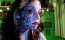 punk chyaz tattoo makeup contest entry